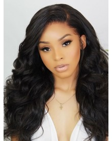 Bejoy High Density Brazilian Virgin Hair Super Wave 360 Frontal Wigs