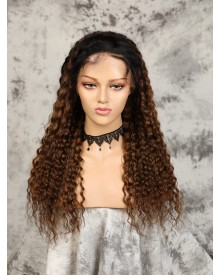 Bejoy Peruvian Virgin Remy Hair Deep Wave 360 Lace Frontal Wigs