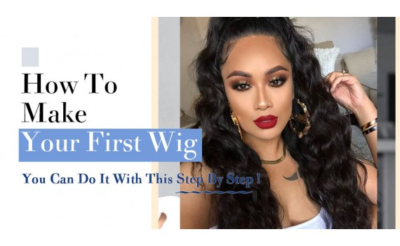 How To Make Your First Wig | You Can Do It Step By Step