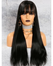 Bejoy Brazilian Virgin Hair Long Straight Full Lace Wigs
