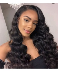 Bejoy Virgin Brazilian Hair Loose Wave Lace Front Wigs
