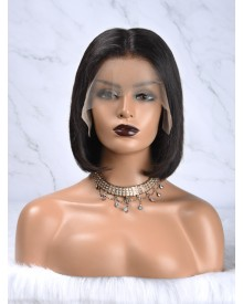 Bejoy Brazilian Virgin Hair Straight Full Lace Bob Wigs