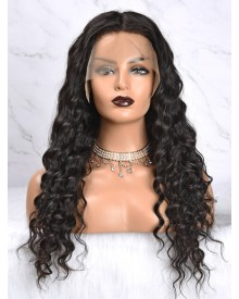 Bejoy Loose Curly Virgin Brazilian Hair Full Lace Wigs
