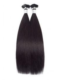 Bejoy Brazilian Remy Hair Flat Tip Hair Extensions Natural Color  Double Drawn