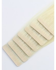 Bejoy Brazilian Virgin Hair Injected Tape In Hair Extensions Single Drawn #613  40Pcs