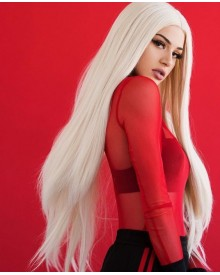 Bejoy Blonde 613# Color Brazilian Remy Hair Straight Hair Lace Front Wigs