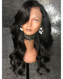 Bejoy Brazilian Virgin Hair Loose Wave 13x6 Lace Front Wigs With Baby Hair