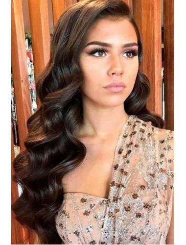 Brazilian Virgin Hair Loose Wave 13x6 Lace Front Wigs With Baby Hair