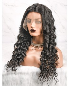Bejoy Virgin Brazilian Hair Loose Curly Lace Front Wigs