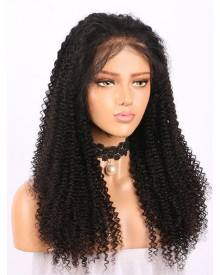Bejoy Virgin Brazilian Hair Kinky Curly Lace Front Wigs