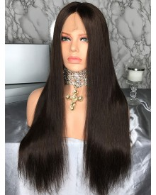 Bejoy Virgin Brazilian Hair Popular Straight Lace Front Wigs