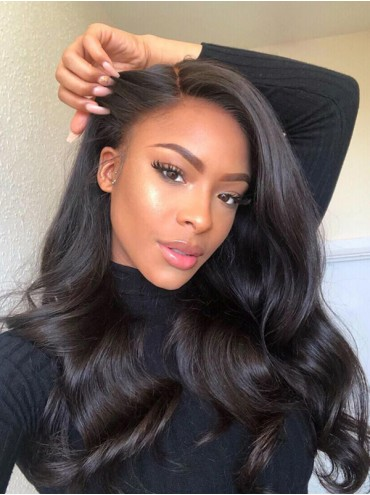 Bejoy Virgin Brazilian Human Hair Body Wave Lace Front Wigs