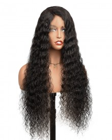 Bejoy Virgin Brazilian Human Hair Deep Wave 13x6 Lace Front Wigs With Baby Hair