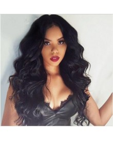 Bejoy Virgin Brazilian Human Hair Loose Body Wave Lace Front Wigs